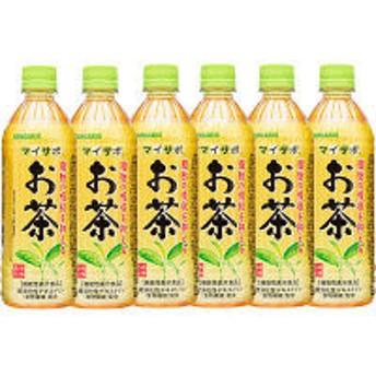 【機能性表示食品】サンガリア マイサポ 脂肪の吸収を抑える お茶 500ml 1セット(6本)