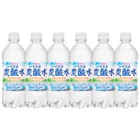 サンガリア 伊賀の天然水炭酸水 500ml 1セット(6本)