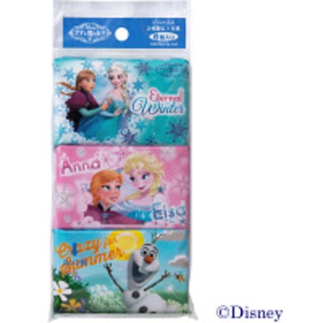 【在庫一掃セール】ポケットティッシュ ディズニー アナと雪の女王ポケットティシュ 6パック入り 河野製紙