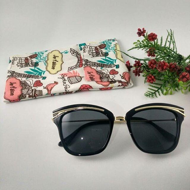 Kacamata Pria dan Wanita Hitam / Frame Kacamata