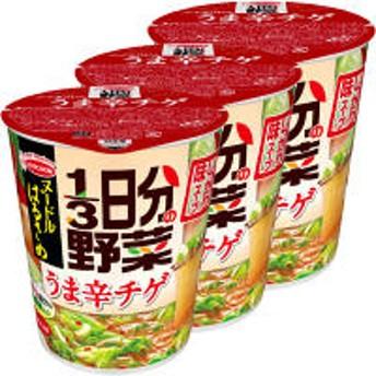 インスタントスープ ヌードルはるさめ 1/3日分の野菜うま辛チゲ 44g 1セット(3食入) エースコック