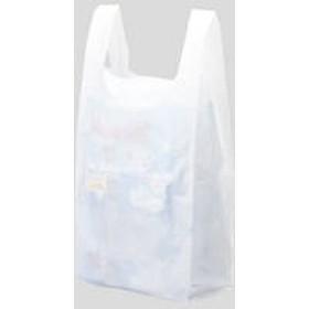 国産レジ袋 乳白 No.80 1袋(100枚入) 福助工業