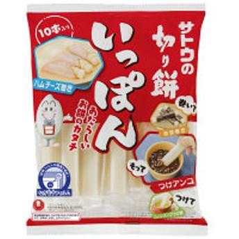 サトウの切り餅いっぽん 10本入 2124505 佐藤食品工業