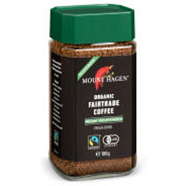 【インスタントコーヒー】マウントハーゲン オーガニック カフェインレスコーヒー 1本(100g)【瓶】
