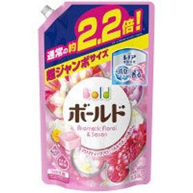 ボールドジェル アロマティックフローラル&サボンの香り 詰め替え 超ジャンボ 1.58kg 1個 洗濯洗剤 P&G