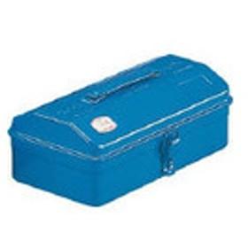 トラスコ中山(TRUSCO) TRUSCO 山型工具箱 304X164X123 ブルー Y-280-B 1個 162-4814 (直送品)