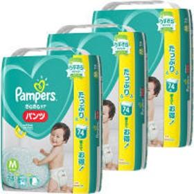 パンパース おむつ パンツ M(6~11Kg) 1ケース(74枚入×3パック) さらさらケア P&G
