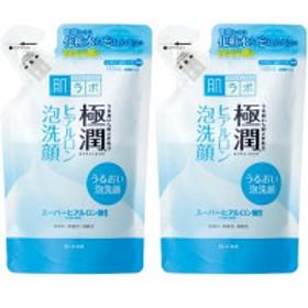 肌ラボ 極潤 ヒアルロン泡洗顔 詰替 140mL 1セット(2個) ロート製薬