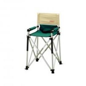 コールマン(Coleman) キッズスリムキャプテンチェア グリーン/ベージュ 170-7543 折りたたみ椅子 キャンプ(Jr)