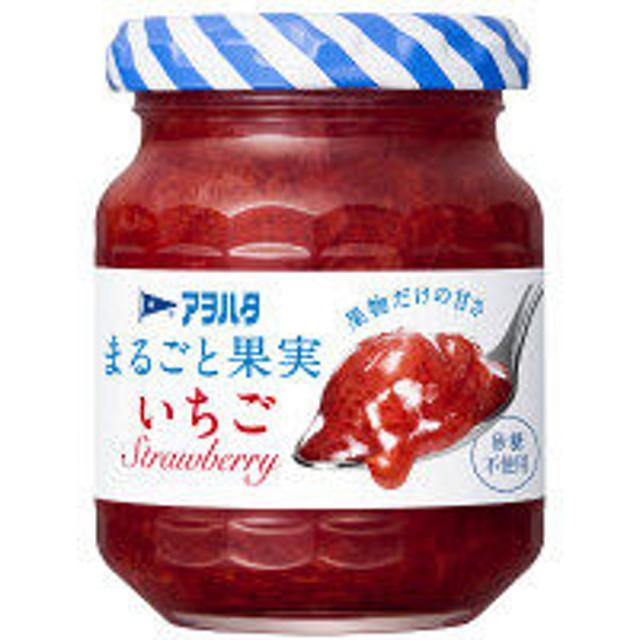 【お試しサイズ】アヲハタ まるごと果実 いちご 125g