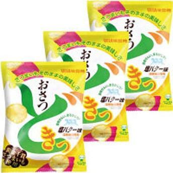 味覚糖 おさつどきっ 塩バター味 259052 1セット(3袋入)