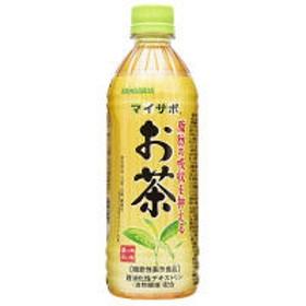 【機能性表示食品】サンガリア マイサポ 脂肪の吸収を抑える お茶 500ml 1箱(24本入)