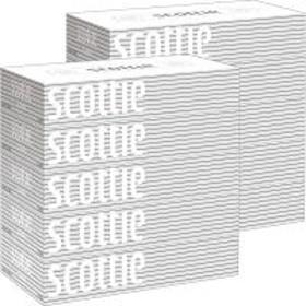 ティッシュペーパー スコッティティシュー 200組(5箱入) 1セット(2パック) 日本製紙クレシア