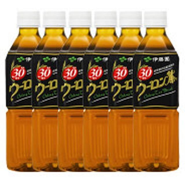 伊藤園 ウーロン茶 500ml 1セット(6本)