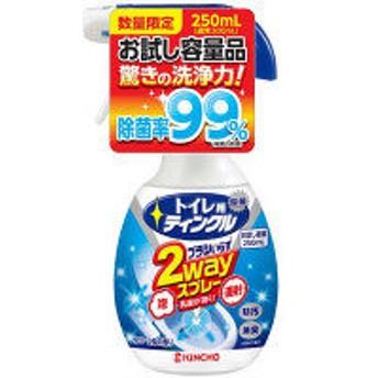 【お試し容量品】トイレ用ティンクル直射・泡2WAYスプレー 本体 250ml 大日本除虫菊