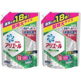 アリエール リビングドライ イオンパワージェル 詰め替え 超特大 1.26kg 1セット(2個入) 洗濯洗剤 液体 P&G