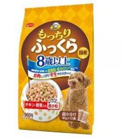 ビタワン もっちりふっくら 8歳以上 チキン・野菜入り 960g(70g×12袋) ドッグフード ビタワン 高齢犬用