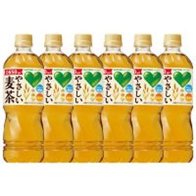 サントリー GREEN DA・KA・RA(グリーンダ・カ・ラ) やさしい麦茶 650ml 1セット(6本)