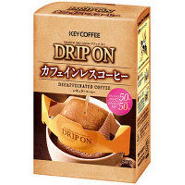 【ドリップコーヒー】キーコーヒー ドリップオンカフェインレスコーヒー 7.5g 1箱(5袋入)