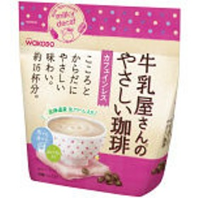 【インスタントコーヒー】WAKODO 牛乳屋さんのやさしい珈琲 1袋(220g)