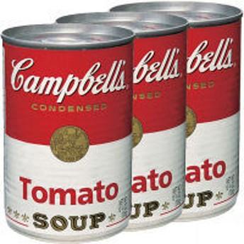 キャンベル <英語ラベル> トマトスープ 3缶