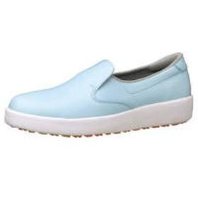 ミドリ安全 ハイグリップ作業靴H-700N 22cm ブルー SKT4303 (取寄品)