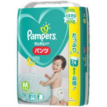 パンパース おむつ パンツ M(6~11Kg) 1パック(74枚入) さらさらケア P&G