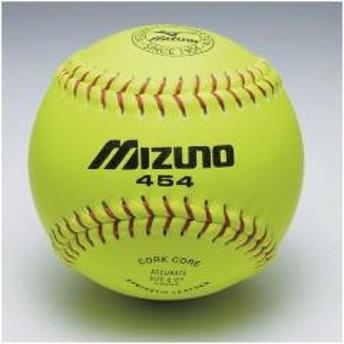 MIZUNO(ミズノ)野球 ソフトボール球 カワイエローソフト ミズノ454 2OS45400 メンズ 1P イエロー