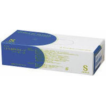 ファーストレイト プレミア・ニトリルPFグローブ パウダーフリー ホワイト Sサイズ FR-856 1箱(100枚入)(使い捨てグローブ)