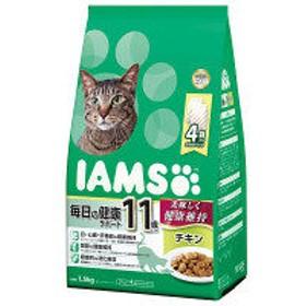 アイムス(IAMS) 猫用 11歳以上用 毎日の健康サポート チキン 1.5kg(375g×小分け4袋)マースジャパン