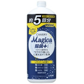 CHARMY Magica(チャーミーマジカ) 除菌プラス レモンピール 詰め替え 大型 950ml 1個 食器用洗剤 ライオン