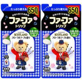 ファーファトリップ スコットランド フローラルソープの香り 詰め替え 650ml 1セット(2個入) 柔軟剤 NSファーファ・ジャパン