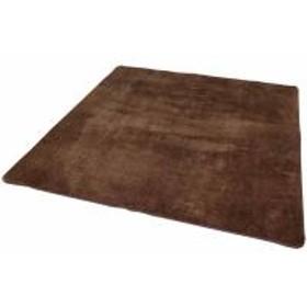 ラグ 絨毯 ラグマット 北欧 ラ・クッション鹿の子 185×185(531116) アイリスオーヤマ (送料無料)