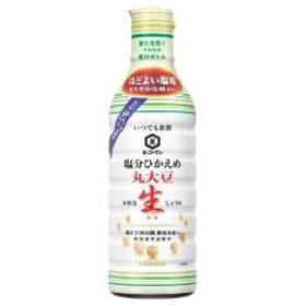 キッコーマン いつでも新鮮 塩分ひかえめ 丸大豆生しょうゆ (450ml)