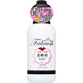 fabrush(ファブラッシュ) 柔軟剤 無香料 本体 600ml ロケット石鹸