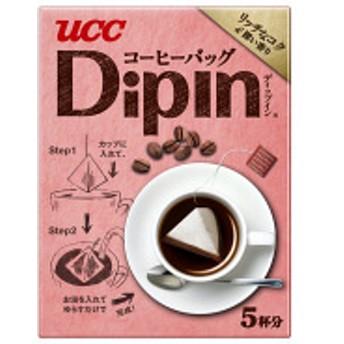 【一杯取りコーヒー】UCC上島珈琲 コーヒーバック DipIn リッチなコク&深い香り 1箱(5バッグ入)