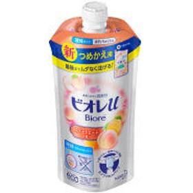 ビオレu スイートピーチの香り ボディウォッシュ 詰め替え 340ml 花王