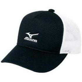 MIZUNO(ミズノ)テニス バドミントン アパレルアクセサリー キャップ A75BM01209 09:ブラックxホワイト