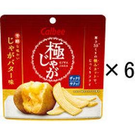 カルビー 極じゃが(きわじゃが) じゃがバター味 40g 1セット(6袋入)