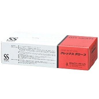 ファーストレイト フレックスグローブ パウダーイン ラテックス SSサイズ FR-940 1箱(100枚入)(使い捨てグローブ)