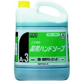 ニイタカ 薬用ハンドソープ5kg 1個 【希釈泡タイプ】
