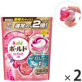 ボールド ジェルボール3D プレミアムブロッサム 詰め替え 超特大 1セット(2個入) 洗濯洗剤 P&G