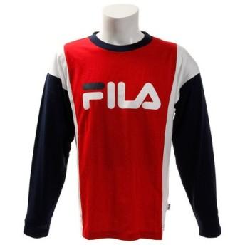 フィラ(FILA) 切替ロゴTシャツ FM4277-11 (Men's)