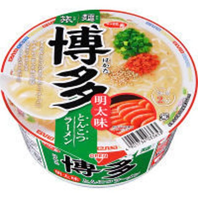 サンヨー食品 サッポロ一番 旅麺 博多 明太味とんこつラーメン 3個