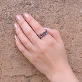 微妙な感じの指輪 ,きらきら、結婚式、パーティー、披露宴,四角の指輪