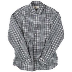 フォックスファイヤー(Foxfire) TSカットドビーチェックシャツ レディース 020/グレー 8212814 長袖 アウトドアウェア カジュアル トップス キャンプ