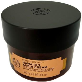 ザ ボディショップ THE BODY SHOP ハワイアン リッチボディクリーム 350ml Spa of The World Hawaiian Kukui Cream 【香水 フレグランス】