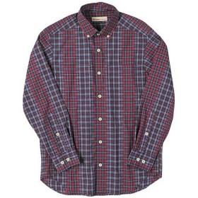 フォックスファイヤー(Foxfire) TSカットドビーチェックシャツ メンズ 080/レッド 5212844 長袖 アウトドアウェア カジュアル トップス キャンプ