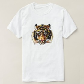 タイガーAmerican Apparel長袖Tシャツ白