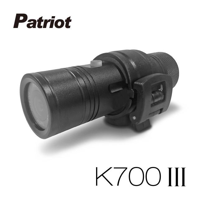 贈32卡-愛國者 K700 III 三代 超廣角170度1080P 機車行車記錄器